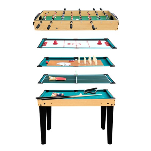 Table multi jeux 10 en 1 commandez nos tables multi jeux 10 en 1 mister b - Table de jeux 5 en 1 ...