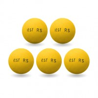 Pack 5 balles ITSF RS Roberto Sport