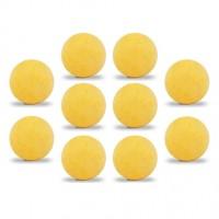 Lot de 10 balles Roberto Sport ITSF démarquées jaunes