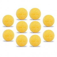 Lot de 10 balles Roberto Sport ITSF jaunes