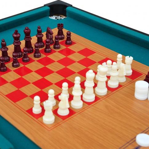table multi jeux 10 en 1 commandez nos tables multi jeux. Black Bedroom Furniture Sets. Home Design Ideas