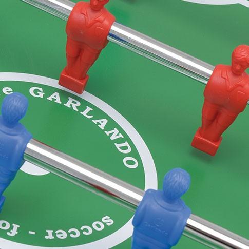 babyfoot indoor joueur rouge bleu