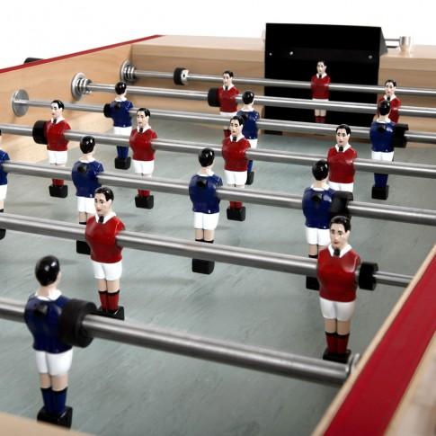 babyfoot marius joueurs bleus et rouges