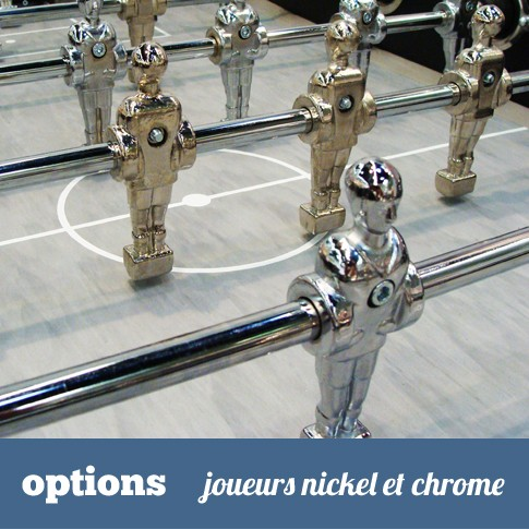 joueurs nickel et chrome