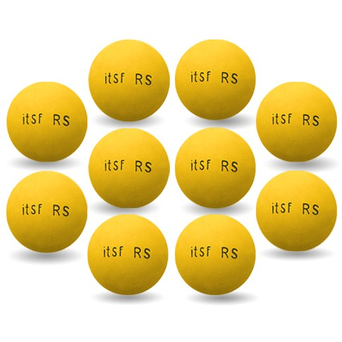 Pack 10 balles ITSF RS Roberto Sport