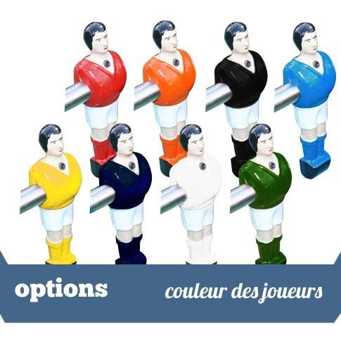 option couleur des joueurs