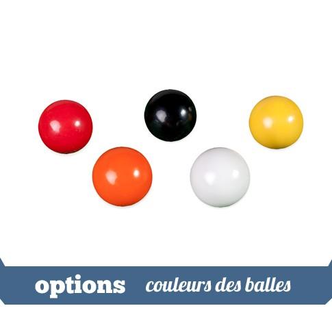 options balles couleurs
