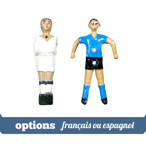 options joueurs français ou espagnol
