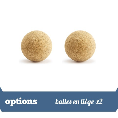 Pack 2 balles liege