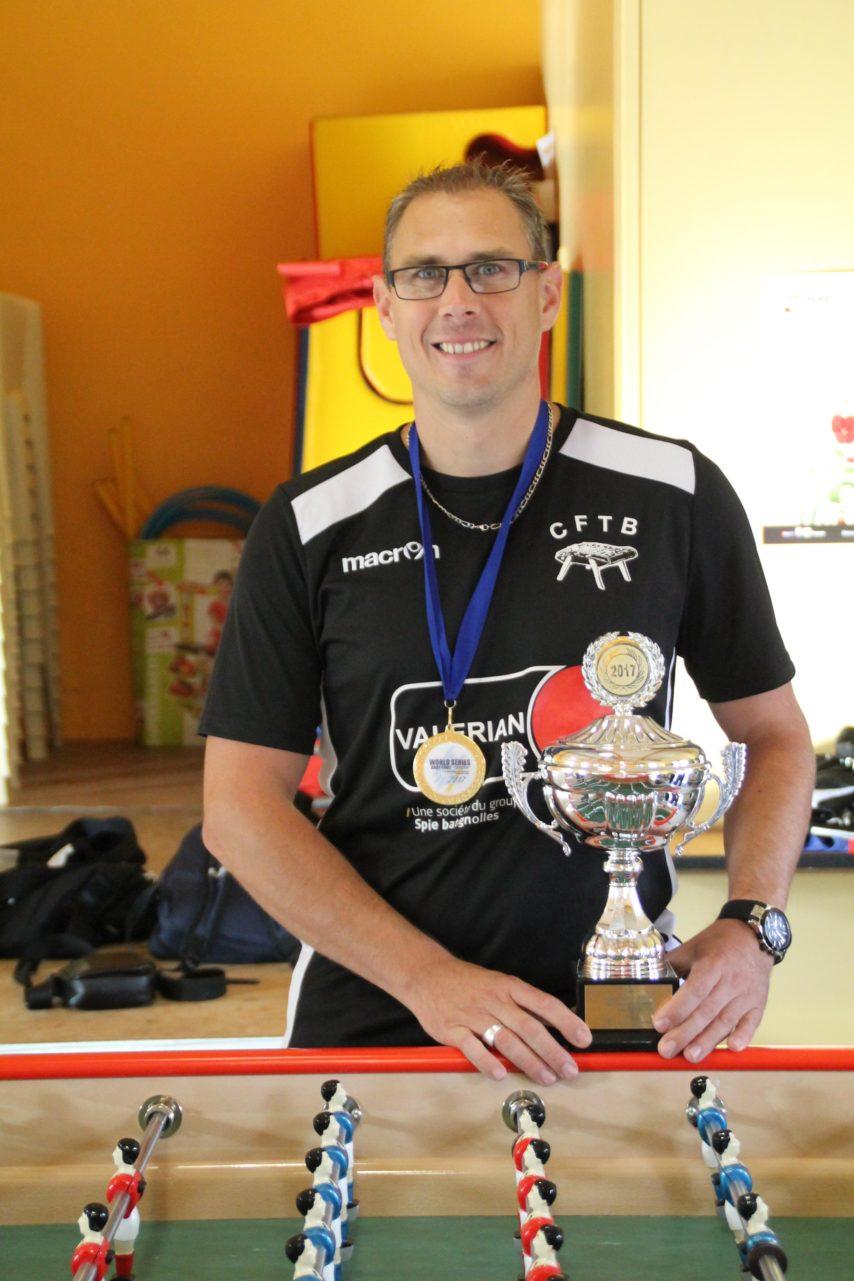champion du monde de baby foot 2017