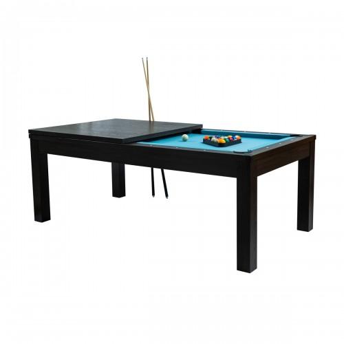acheter table de billard bois fonce