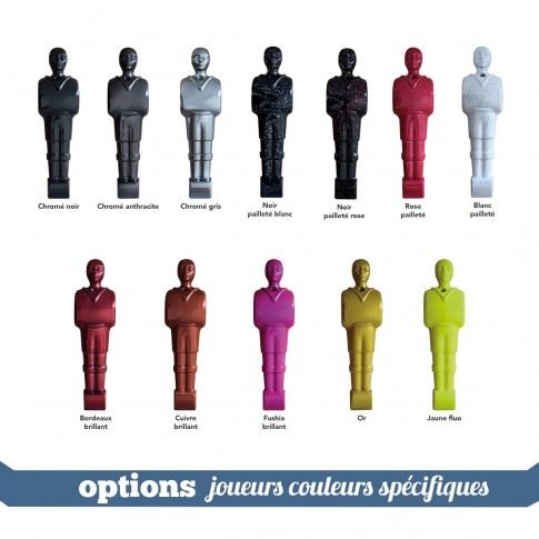 acheter option personnalisees joueurs baby rouge