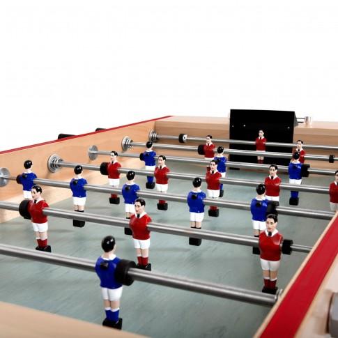 baby foot joueurs bleus
