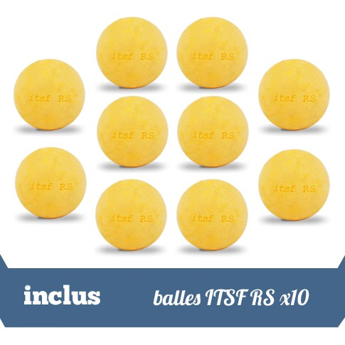 Pack 10 balles ITSF RS