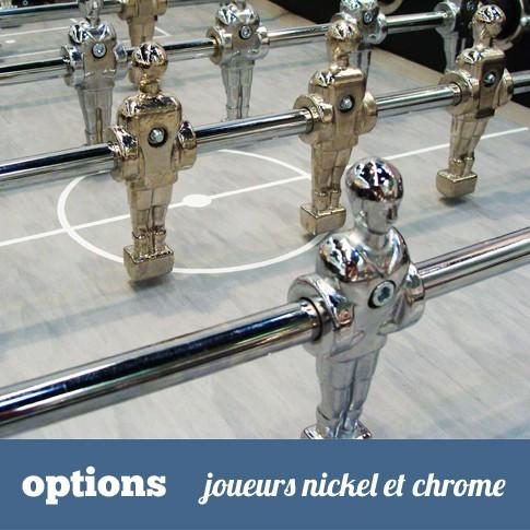 joueurs chrome et nickel