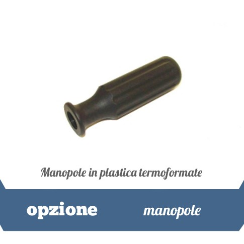 Poignees en plastique thermoformees