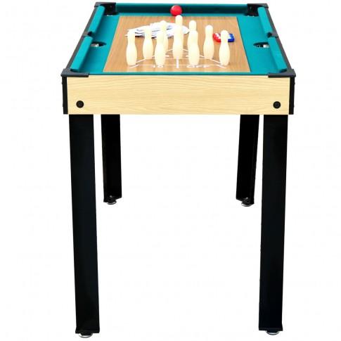 table bois multi jeux pas cher