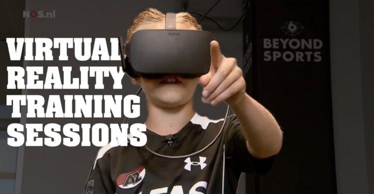 Stoke City entraînement en réalité virtuelle