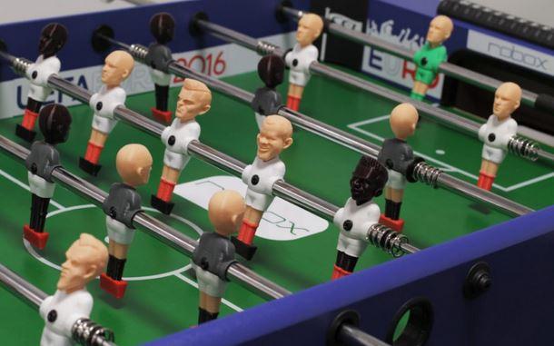 joueur de baby foot 3D