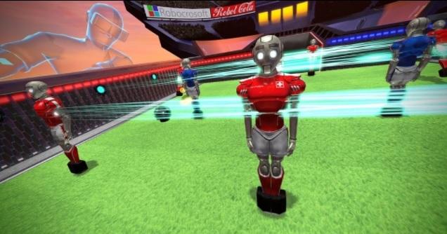 babyfoot en réalité virtuelle